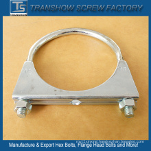 Galvanized Steel Exhaust Pipe Clamp U Bolt Clamps
