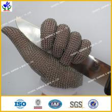 Luvas de aço inoxidável de alta qualidade
