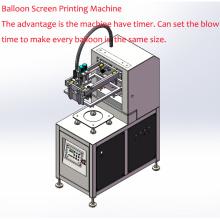 Latex-Ballons, einfarbige automatische Ballon-Druckmaschine