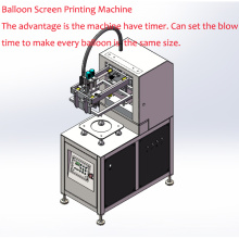 Latex Balloons, Single Color Automatic Balloon Printing Machine