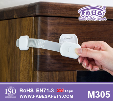 Adjustable Cabinet Child Locks