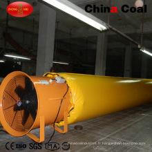 Conduits d'air de ventilation de PVC pour l'exploitation minière