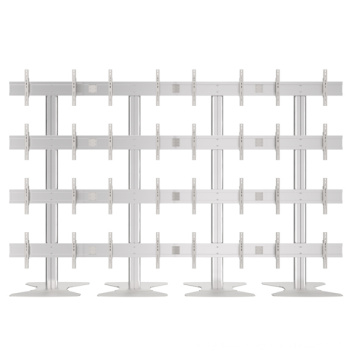 """Video Wall Stand Floorbase 16 Screens 40-55"""" (4*4) (AW 1600A)"""