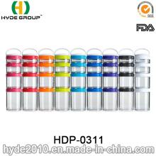 Портативный бесплатный пластиковый контейнер БПА белка (ДПН-0311)