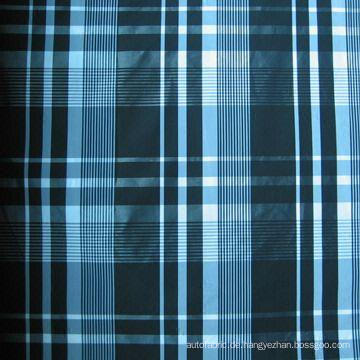 100% Polyester Check Overcoat / Mantel / Jacke verwenden Form Memory Fabric (F062R)