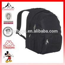 Mochila de poliéster mochila de los adolescentes con estilo con el compartimiento del ordenador portátil