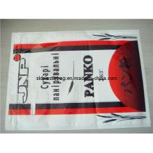 Plastik Reißverschluss Tasche für 1kg Mehl Verpackung