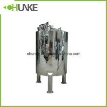 Tanque de armazenamento estéril de aço inoxidável da água 304 para o tratamento da água