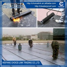 for roof polyester reinforced SBS modified asphalt waterproof roll