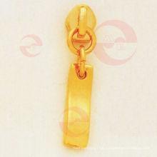 Tirador de cremallera arqueada / etiqueta deslizante para accesorios de bolsa (G10-227AS)