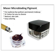 Hot Sale 3D Eyebrow Embroidery Microblading Pigment / Colors