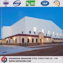 Steel Structure Building for Lab with Mezzanine