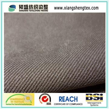 Suede sintética de poliéster para la chaqueta (XSS-103A)