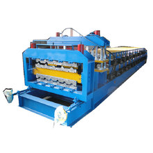double layer roofing panel roll forming machine