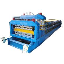 rollo del panel de techado de doble capa que forma la máquina