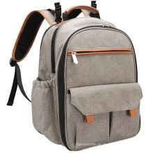 Einfache Art leichte Wickeltasche Rucksack