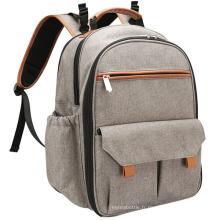 Sac à langer léger style simple sac à dos