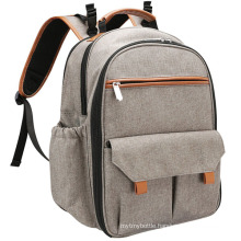 Simple Style Lightweight Diaper Bag Backpack