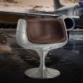 Скандинавских алюминия Кубок Председателя Creative стул кафе стул обеденный стул