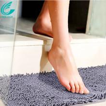 alfombrilla antideslizante para baño chenille de microfibra