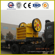 Large capacity stone jaw crusher china agent