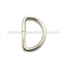 Moda de alta qualidade em aço inoxidável D-Ring