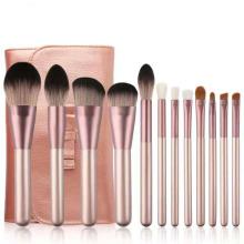 New 12pcs Small Grape Makeup Brush Set For Beginners Small Grape Makeup Brush Set Beauty Tools Makeup Brushes