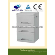 AG-BC002 ABS 3-drawer hospital plastic cupboard