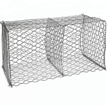 Hexagonal Galvanized Gabion Wire Mesh Box