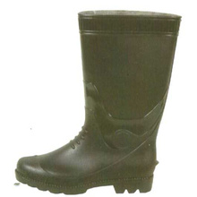 Men's Steel Toe Cap Pvc Rain Boots