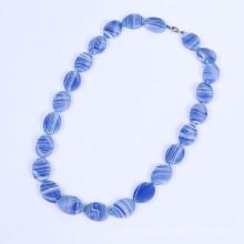 Новые продукты Blue пластинчатые Агат ювелирные изделия