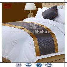 Nouvelle conception de qualité Jacquard New Arrival Bed Runners for Hotels