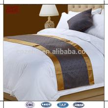 Novo Design Qualidade Jacquard New Arrival Bed Runners para Hotéis
