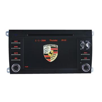 Специальный автомобильный аудиоплеер для Porsche Cayenne с GPS-навигацией