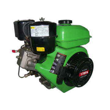 Single cylinder,4-stroke, Air-cooled,Agriculture machinery Diesel Engine for model RZ170-FA TP
