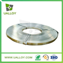 Ruban ni Cu alliage Uns No5500 fil métallique plat pour vanne
