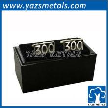 подгоняйте металл запонки, пользовательские высокого качества серии 300 запонки