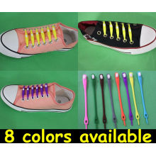 Eco-friendly Flexible Luminous Silicon Rubber Shoelace ,cool Shoestring Silicone Kitchenware