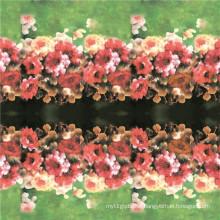 Impressões Digitais Home Textile Silk Fabric (TLD-0051)