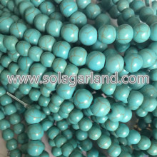 6MM 8MM 10MM 12MM Imitation Turquoise Round Ball Beads