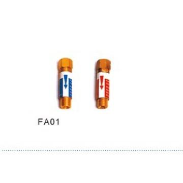 Pararrayos de retroceso para regulador FA01