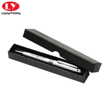 Pen Box Black Colour dengan Die Cut Lid