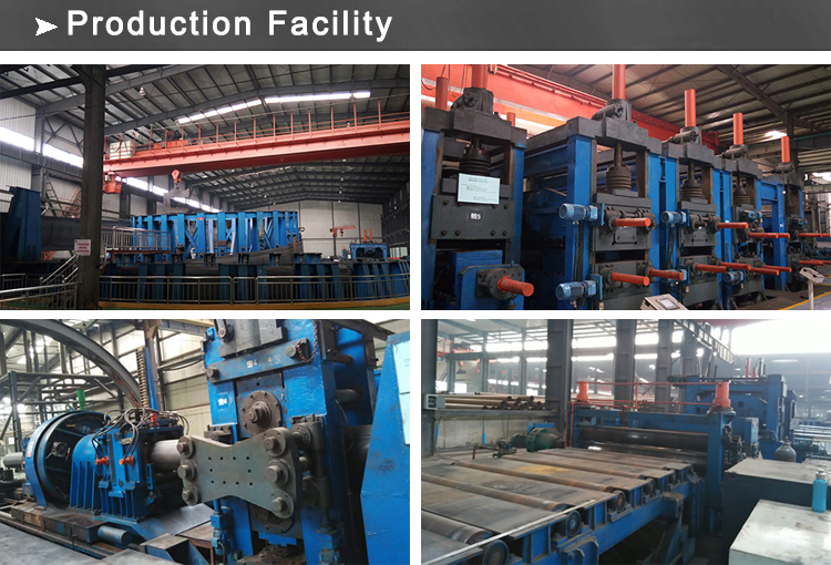 ERW production facility