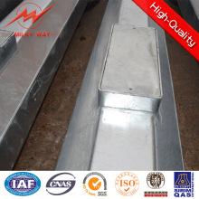 Utility verzinkter und pulverbeschichteter Stahlmast