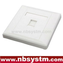 1 port Face Plate, size:86x86mm