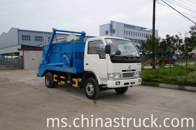 3Ton swing arm garbage truck