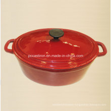 OEM ODM Cast Iron Cookware Manufacturer China Size 34X25cm