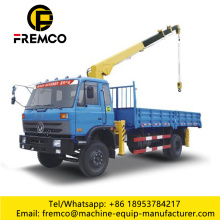 Lifting 4 Ton Capacity Knuckle Lorry Crane