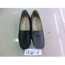 Confort Señora zapatos con suela plana TPR (SNL-10-027)