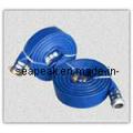 Синий слива шланг PVC с высоким качеством